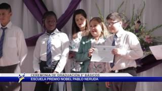NOTA GRADUACIÓN ESCUELA PREMIO NOBEL PABLO NERUDA