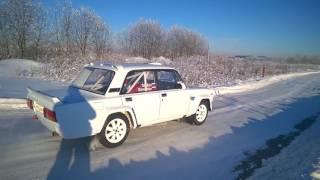 VAZ 2105 VFTS Rally, Очень Грамотный Раллийный Корч на базе Жигуля