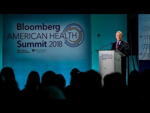 Mike Bloomberg Delivers Remarks at the Bloomberg American Health Summit
