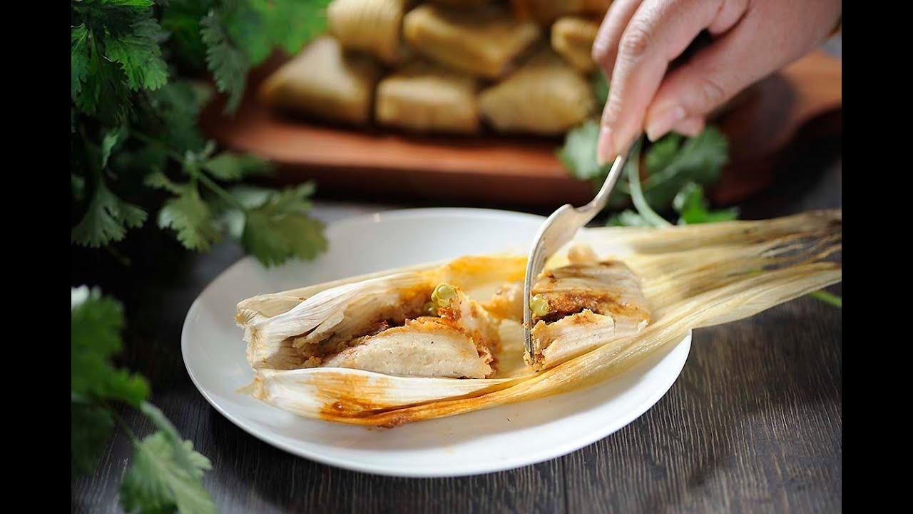 Tamales rellenos de picadillo  YouTube