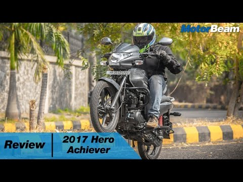 2017 Hero Achiever Review | MotorBeam