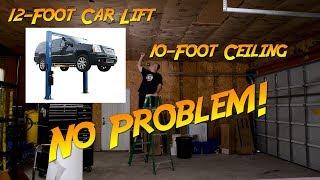 Part 1 - My crazy idea: Installing a 12-foot lift into my 10-foot garage (Atlas 90HSC)