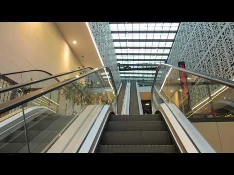 Centrum Galerie shopping mall in Dresden - Germany
