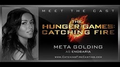 Meta Golding Cast as Enobaria in 'Catching Fire'