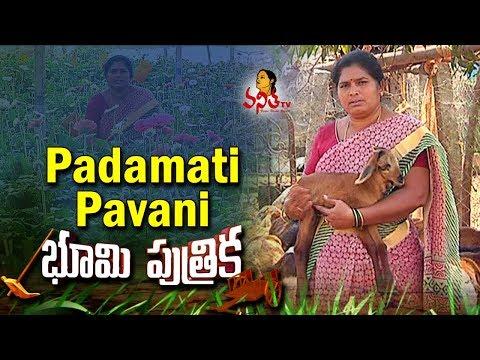 Woman Farmer Padamati Pavani Success Story -Agriculture Special || Bhoomi Putrika || Vanitha TV