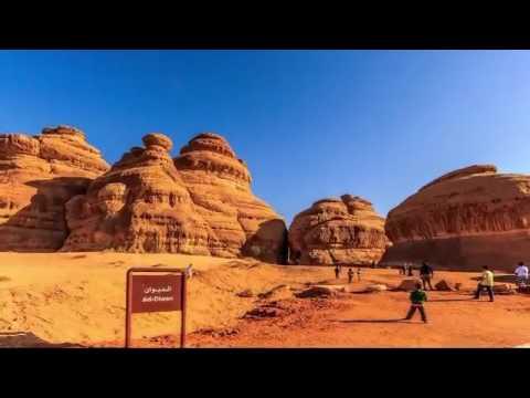 Jalan-jalan ke Madain Saleh Arab Saudi