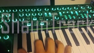 Nine Inch Nails - Copy Of A (one hand synth cover)