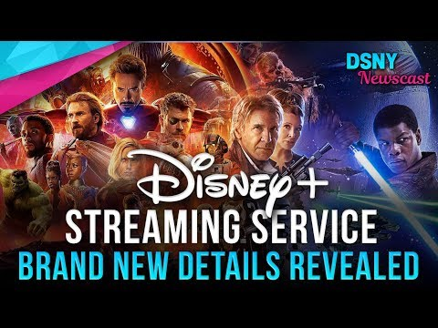 New Details Revealed For DISNEY+ STREAMING SERVICE - Disney News - 11/13/18
