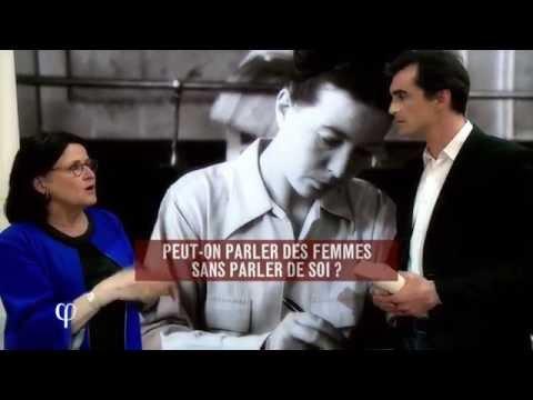 Philosophie - Simone de Beauvoir-Gibt es die Frau überhaupt?