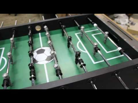 HBS Foosball Table Assembly Video - YouTube