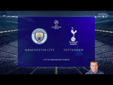 видео: Фифа Прогноз! Манчестер Сити vs Тоттенхэм - 1/4 Лига Чемпионов  2018/2019!  + Ставка!