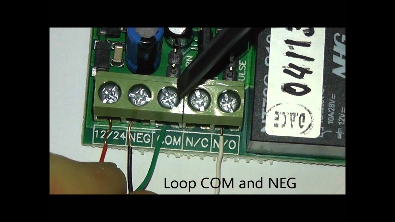 DACE- connecting a DACE Universal 433.92 Mhz receiver. - YouTube