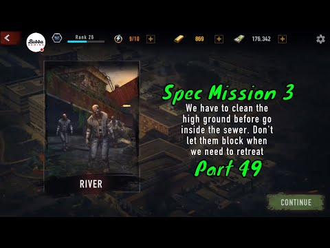 MAD ZOMBIES : Offline Zombie Games-R7 Military Zone -Part 49-Gameplay Walkthrough-(Android-iOS)
