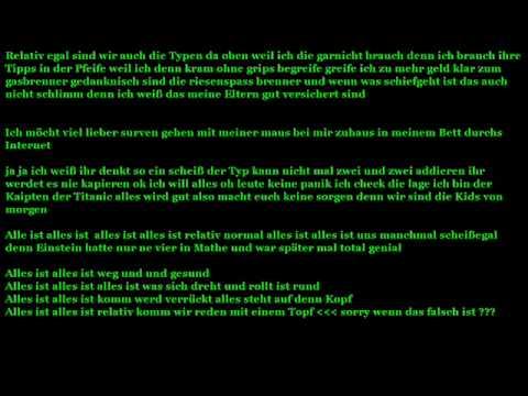 Songtext Schloss Einstein