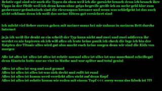 Schloss Einstein song Text.