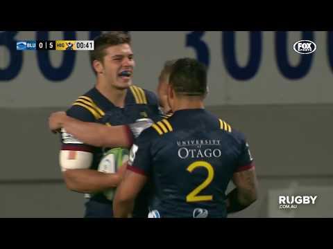 2018 Super Rugby Round Ten: Blues vs Highlanders