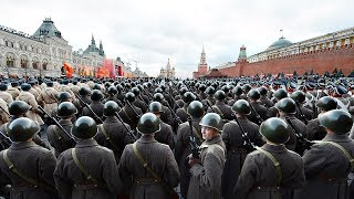 Russian Military Parade 1945 Remastered: The First Victory Parade on Red Square (English T)
