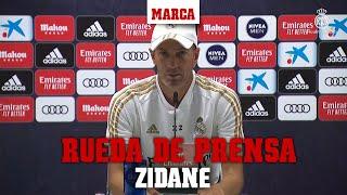 EN DIRECTO: Rueda de prensa de Zidane I MARCA