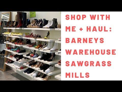 Shop With Me + Haul: Barneys Warehouse Sawgrass Mills