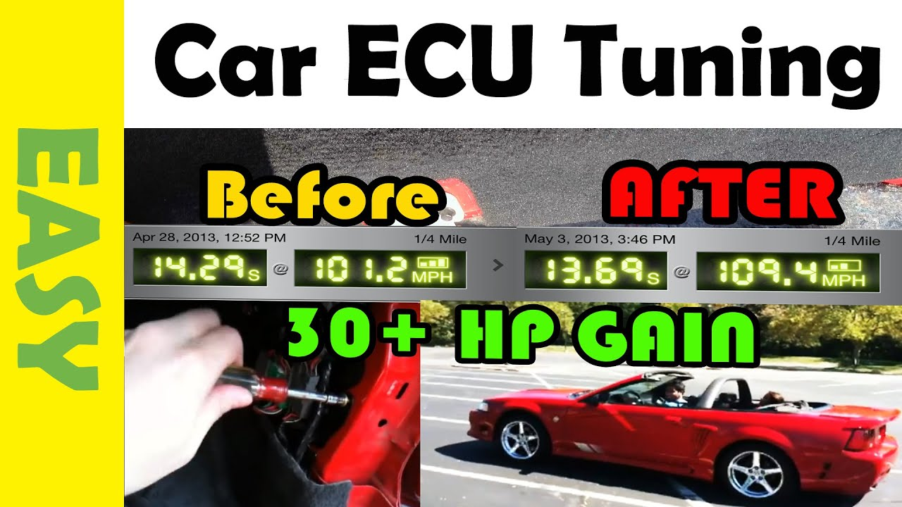 Add Up To 30 Horsepower To Mustang With Ecu Tuning After