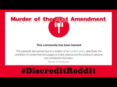 "REDDIT BANNED OUR CBTS_STREAM SUBREDDIT! ""F&%$ YOU. WAR."" #WeThePeople PATRIOTS SOAPBOX 24/7 Stream."