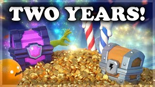 🍊 Clash Royale Two Year Anniversary 🍊