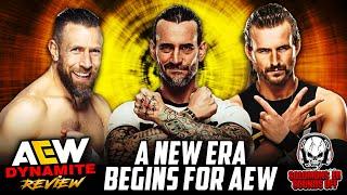 AEW Dynamite 9/8/21 Full Show Review - CM PUNK, BRYAN DANIELSON AND ADAM COLE SPEAK LIVE!