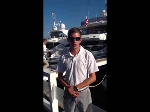 Yachtingpages.com testimonial from M/Y Blush during Monaco Yacht Show 2014