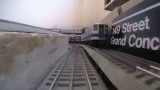 mth subway mth r142a 4 train subway ride
