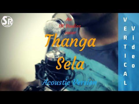 Thanga sela(Kaala) - Acoustic Cover by SR | Vertical Video | Santhosh Narayanan | Rajnikanth