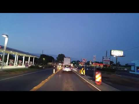 Driving from Reading to Kutztown,Pennsylvania