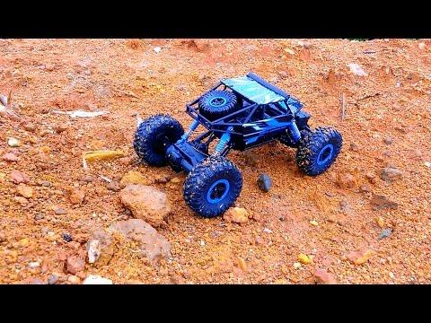 [Mở Hộp] XE ĐỊA HÌNH HB - P1803B 1/18 4WD Rock Crawler by Banggood