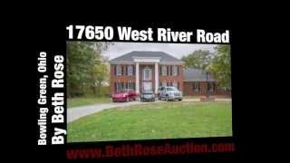 minimum bid auction 17650 w river rd bowling green oh maumee river