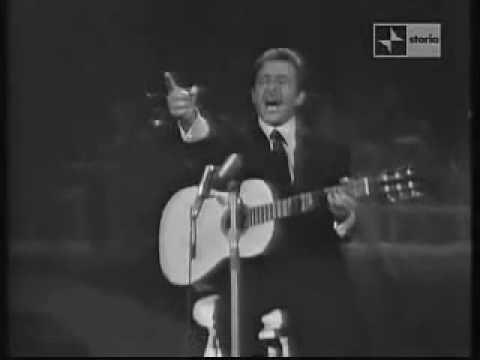 Domenico Modugno Lu pisci spada Teatro 10 1964