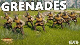 Conqueror's Blade - Zykalian Militia - Fire Grenades!