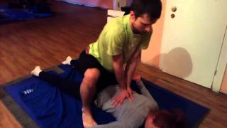 Тайский массаж. Спина