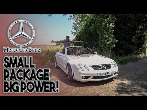 2003 MERCEDES SL500 REVIEW! SMALL PACKAGE, BIG POWER!