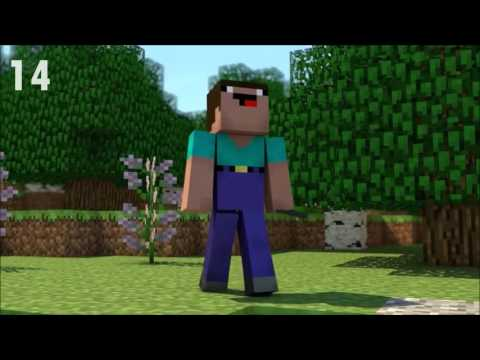 Top 20 Minecraft Awesome Animations (FUNNY) for kids!