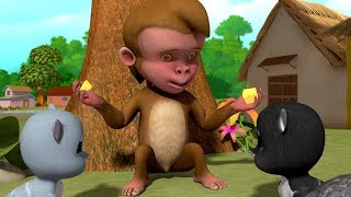The Monkey's Justice | Short Stories Collection for Kids | Infobells