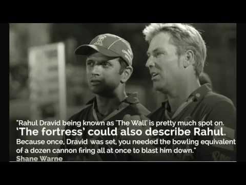 Tribute to Rahul Dravid