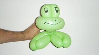 Жаба из шарика