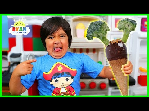 Do You Like Broccoli Ice Cream Song ?? Kids Nursery Rhymes with Ryan!