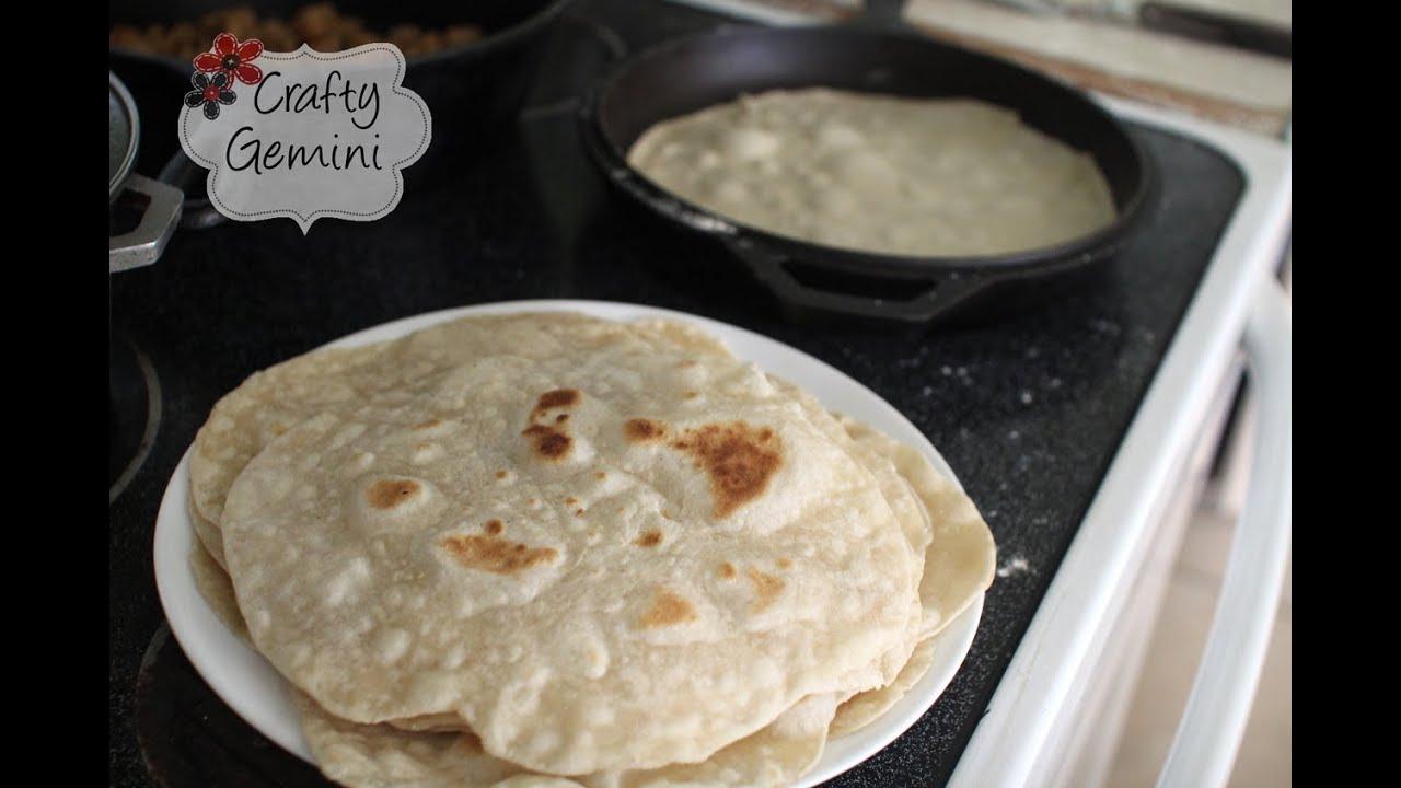 Flour Tortillas- Easy Recipe