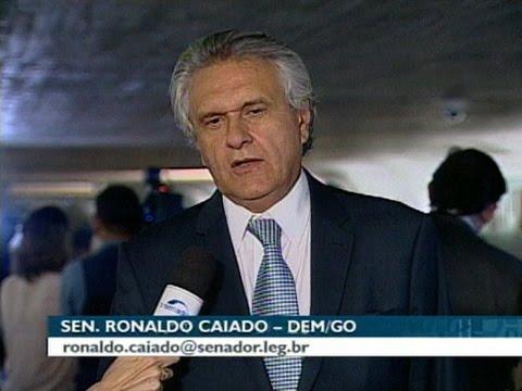Ronaldo Caiado acredita que placar do resultado deve aumentar