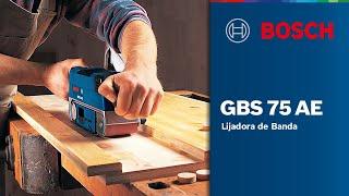 Lijadora de Banda GBS 75 AE
