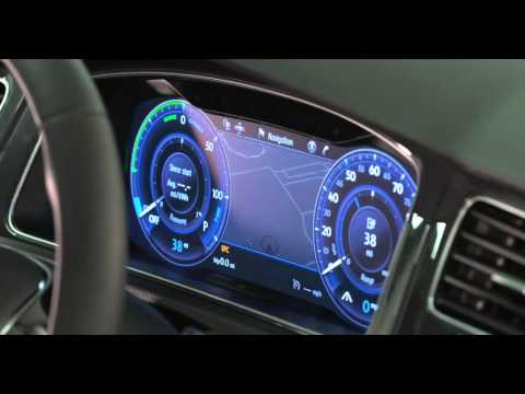 Volkswagen Golf with Full TFT Display and Next-Generation Infotainment