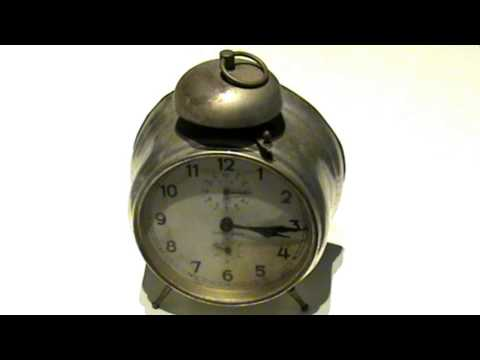 Old Alarm Clock Sound - Ringing - Made in Germany 1920's - 30's.
