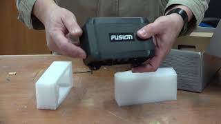 Распаковка и обзор морской магнитолы FUSION MS-BB100