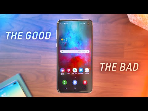 Samsung Galaxy S10e - The Good & The Bad