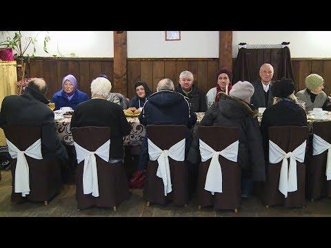 Телеканал НТК: У Коломиї для самотніх людей влаштували святковий обід